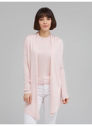 Silk and Cashmere Hırka Pembe